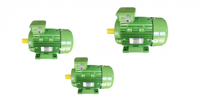 Low Noise IE3 Electric Motors Premium Efficiency 60Hz Frequency High Protection Grade