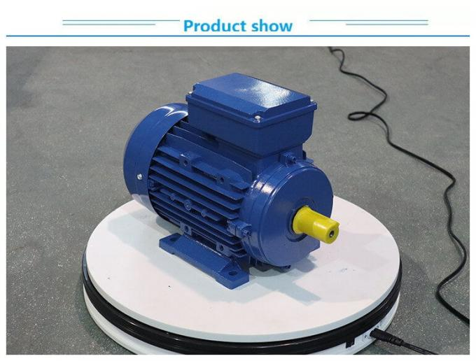 Aluminium Housing 3 Phase Induction Motor 0.75KW 1HP Capacitor Running For Gear Box