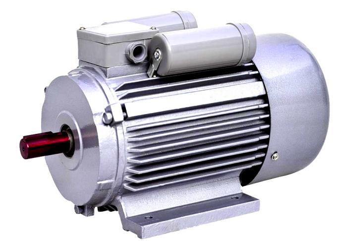 Capacitor Start / Run Single Phase Induction Motor 3kw 4hp For Flatting Mill Machine