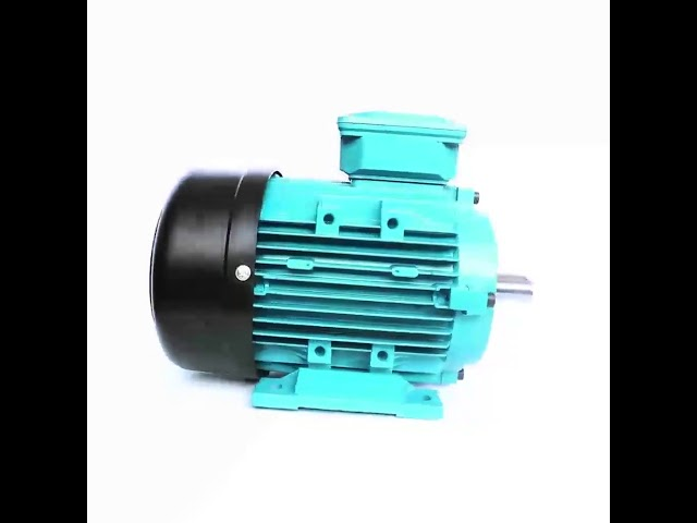 Aluminum IP54 1.5kw 2hp Single Phase Electric Motor