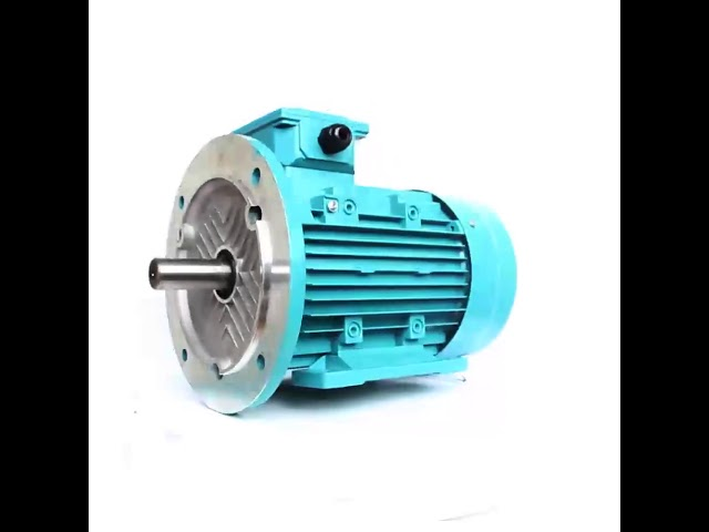 Aluminum Housing Asynchronous AC Motor MS Series 1400rpm 380V 750KW Customizable