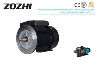 China IP54 IP55 Single Phase Electric Motor , 2HP 1.5kw AC Asynchronous Motor 2 Pole supplier