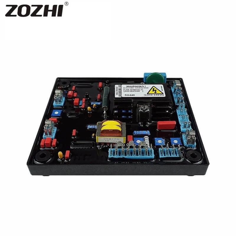 AC Brushless Alternator Easy Spare Parts Voltage Regulator ...
