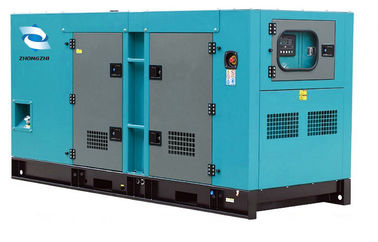 China Canopy Type 30kw Silent Diesel Generator Cummins Engine Soundproof factory