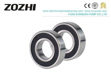 China 6206 2rs Ac Generator Parts Deep Groove Ball Bearing Rubber Coated For Pump factory