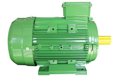 China Aluminum Housing 3 Phase Induction Motor , 4 Pole AC Electric Motor For Cutting Machine factory