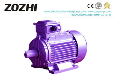 China Cast Iron Housing 3 Phase Induction Motor , 30KW 40 HP Electric AC Motor Y2-200L-4 factory